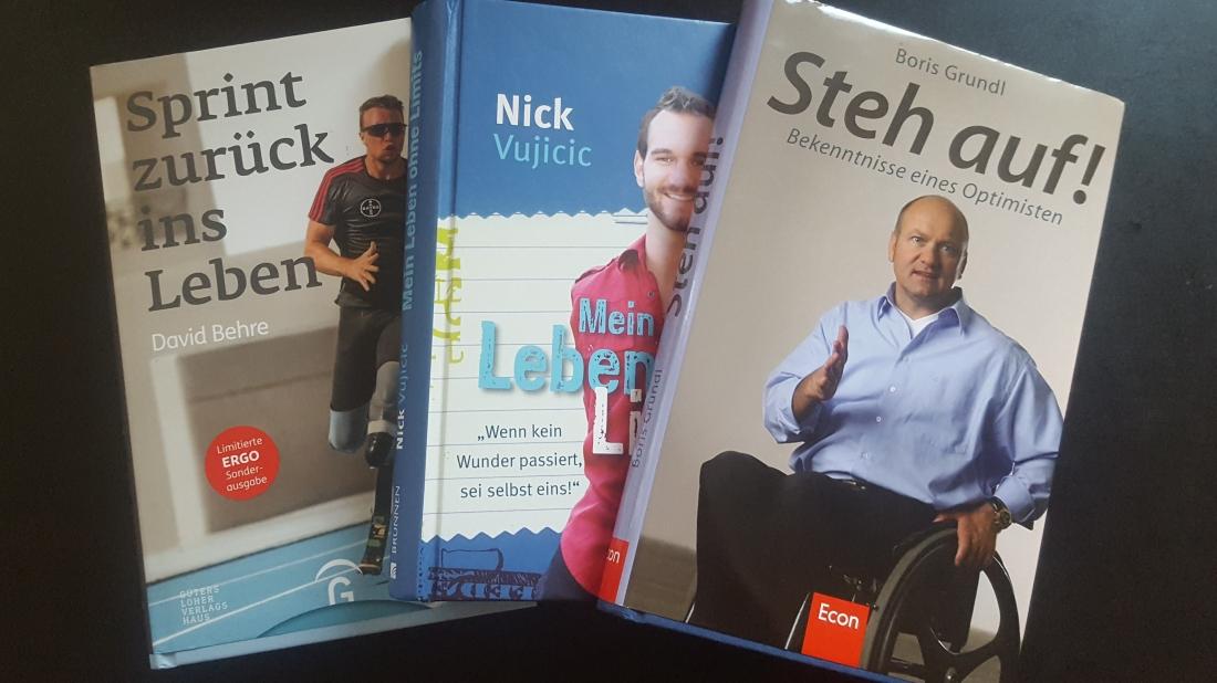 Bücher über Menschen mit Handicap