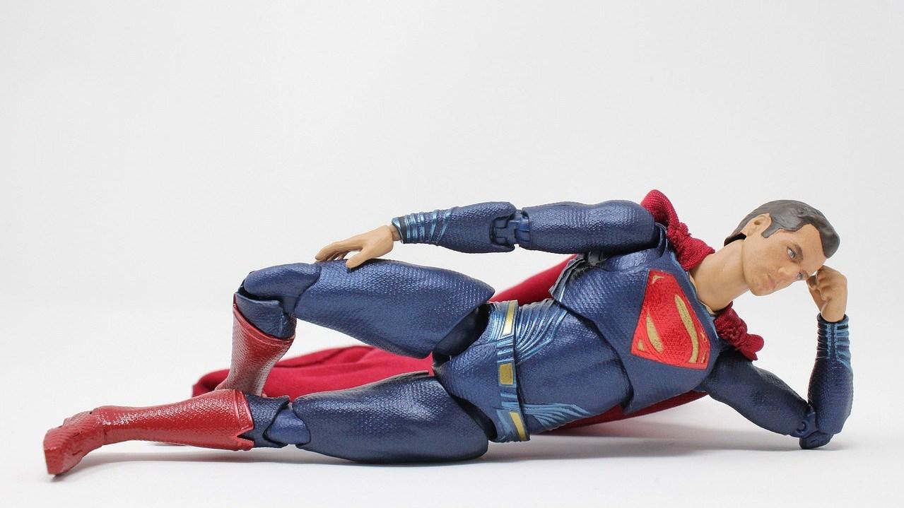 Superman nachdenklich